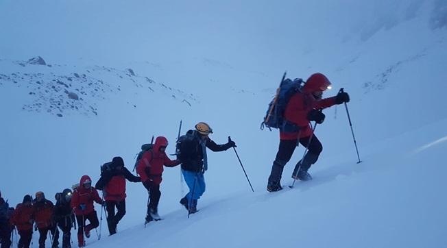 Urfalı Dağcılar Şehitleri Anmak İçin Berit Dağına Tırmandı