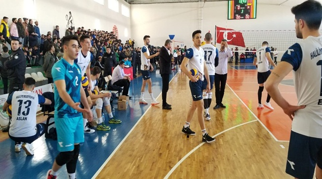 Haliliye Belediyespor Solhan'ı Mağlup Etti