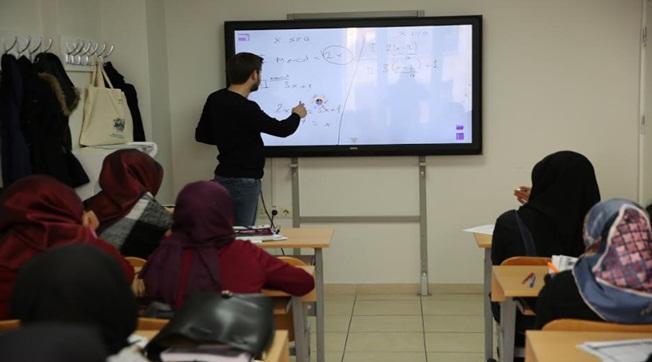 Haliliye'de Özel Dersten Farksız Eğitim