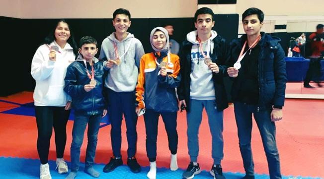 Okullar Arası Tekvando Turnuvası Yoğun İlgi Gördü
