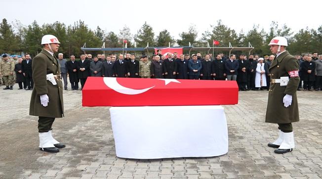 Şehit Ceyhun Taş'ın Cenazesi Memleketine Uğurlandı
