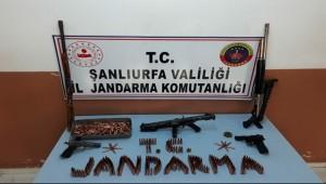 Suruç'ta Silah Kaçakçılığı Operasyonu 3 Gözaltı