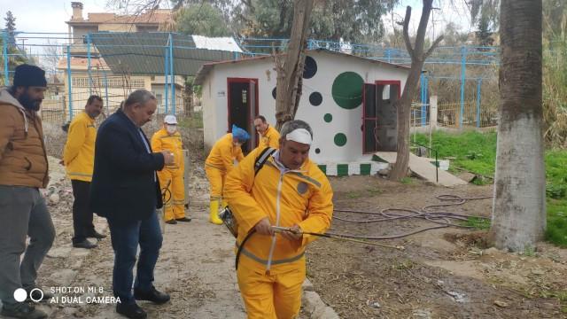 Barış Pınarı bölgesinde korona virüs tedbiri