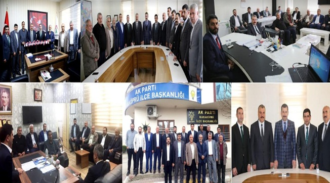 Karaköprü Belediyespor Yönetiminden Ağan'a Ziyaret