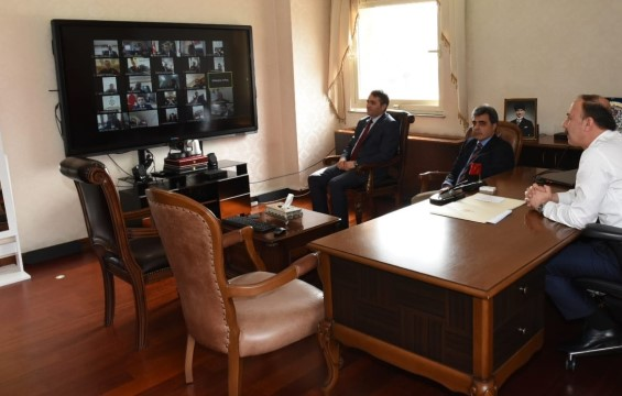 Koordinasyon kurulu telekonferansla toplandı
