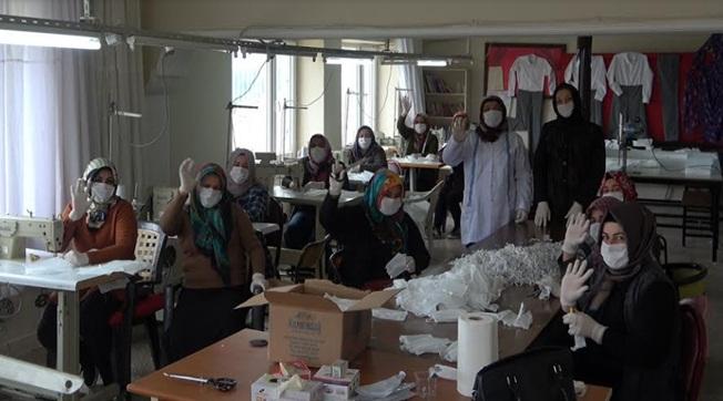 Şanlııurfa'daki Bu Belediye Maske Üretimine Başladı