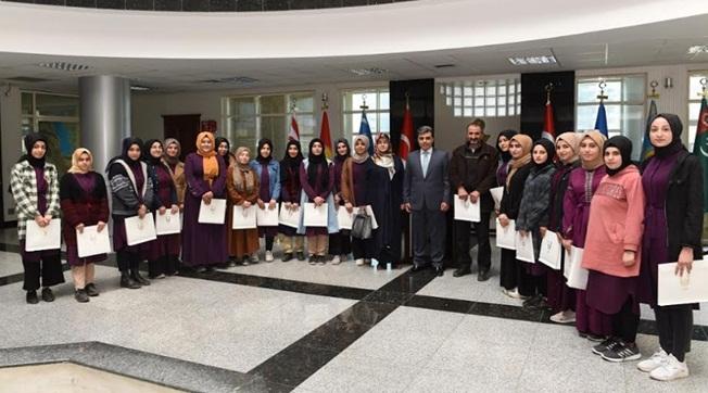 Süleymaniye Lisesi Öğrencileri Valiliği Ziyaret Etti