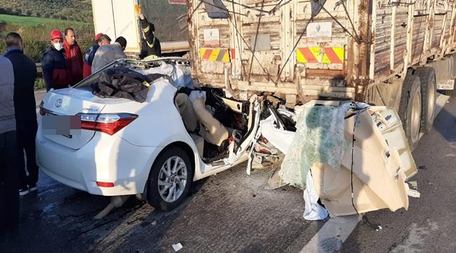 TİGEM Çalışanı ve İki Kişi Kazada Hayatını Kaybetti