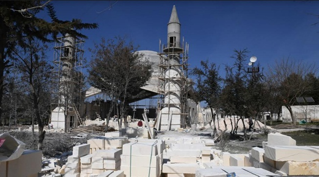 Viranşehir Eyüpnebi'de İnşaat Devam Ediyor