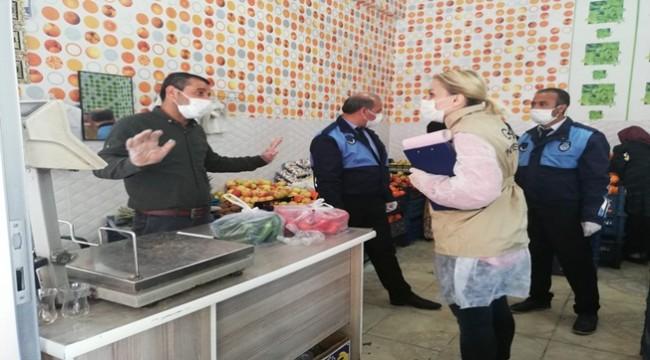 Virüs Salgınına Karşı Urfa'nın 13 İlçesinde Gıda Denetimi