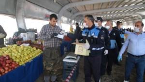 Urfa'da ücretsiz maske dağıtıldı !
