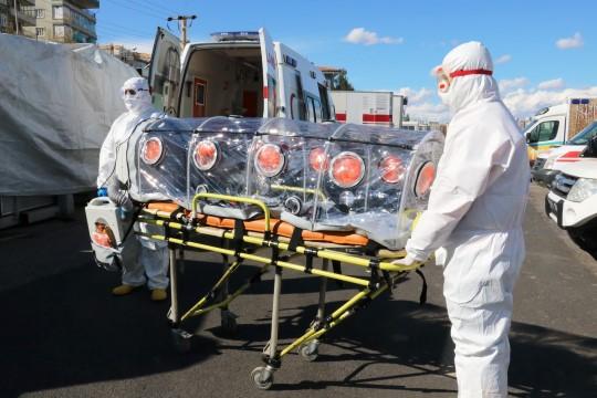 Şanlıurfa'da Koronavirüs vakalarının taşındığı sedyelerle ilgili açıklama