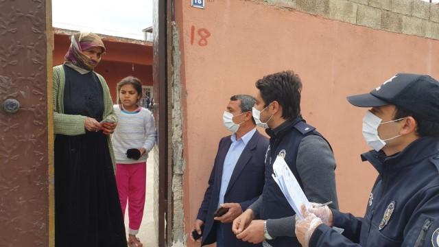 Suruç'ta vatandaşlara adreslerinde ödeme yapılıyor