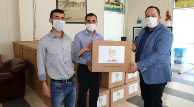 Ekinci'den Çölyak Hastalarına gıda paketi