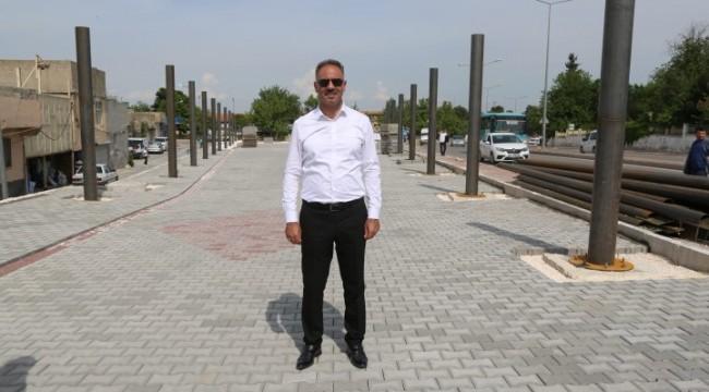 Eyyübiye Belediyesi, Kapalı Semt Pazarı Yapımını Sürdürüyor.