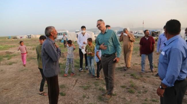 Eyyübiye Belediyesinden Mevsimlik Tarım İşçilerine gıda (Video Haber)
