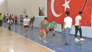 Akçakale'li öğrenciler spor akademisine hazırlıyor