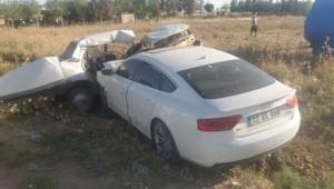 Akçakale Ziraat Odası Başkanı Trafik kazasında yaralandı