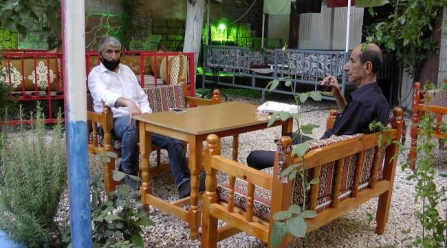 Ceylanpınar'da çay bahçeleri hizmet vermeye başladı