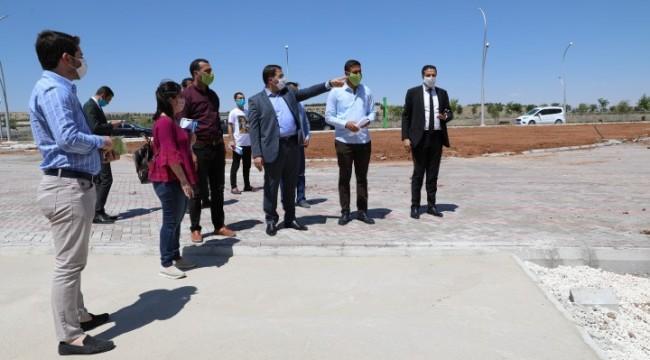 Haliliye belediyesi projeleri Canpolat 'ın takibinde