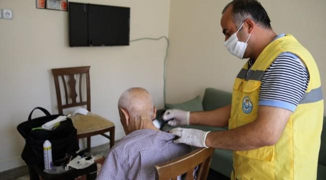 Haliliye'de bakıma muhtaç ailelere hizmet veriliyor (Video)