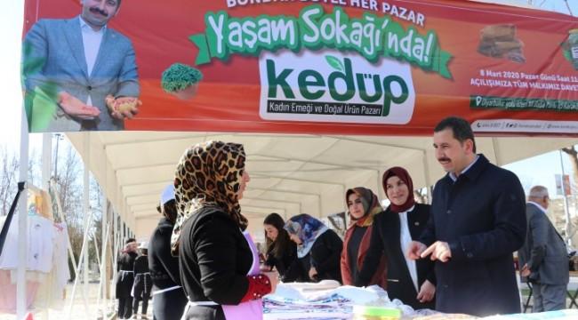 Karaköprü'de Kadın Emeği ve Doğal Ürün Pazarı hizmete başlıyor