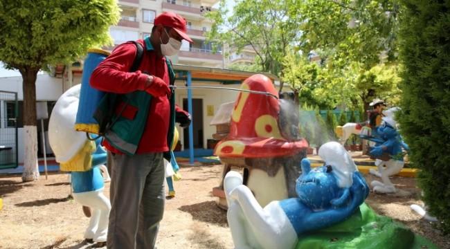 Karaköprü'de oyuncak müzesi çocuklara hazırlandı(Video)