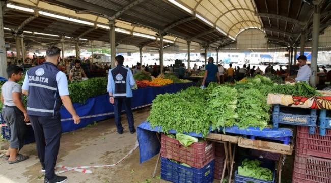 Urfa'da Normalleşme sonra semt pazarlarında denetim (video)