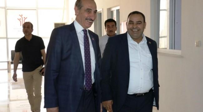 Yalçınkaya Sosyal Hizmetler Müdürlüğünü ziyaret etti