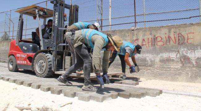 Eyübiye Belediyesi yol yapımına ağırlık verdi