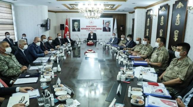 Güvenlik toplantısı İçiişleri Bakanı Soylu başkanlığında yapıldı