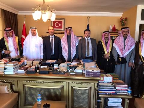 Aşiret reisleri Cumhurbaşkanı Erdoğan'a bağlılıklarını iletti
