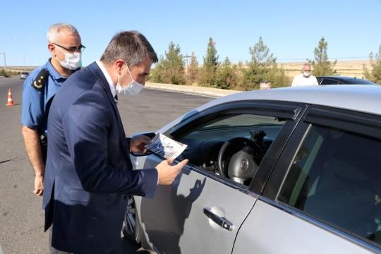 Şanlıurfa'da bayramda trafik denetimleri arttırıldı (Video)