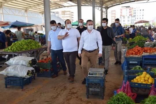 Viranşehir'de koronavirüs denetimi