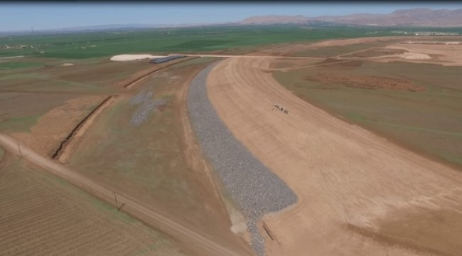 Derik'te yapılan sulama deposu ile milli ekonomiye yıllık 587 milyon 404 bin lira gelir artışı hedefleniyor