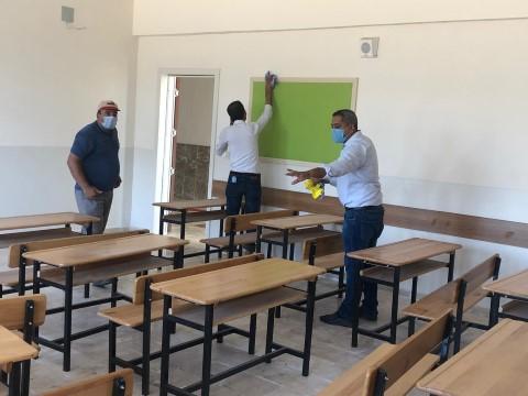 Haliliye MHP ilçe teşkilatından milli eğitime destek