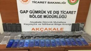 Şanlıurfa'da 79 kaçak cep telefonu ele geçirildi