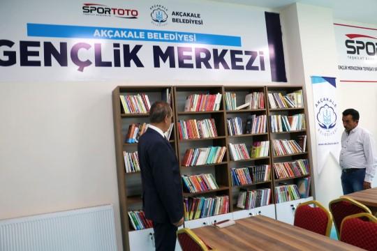 Yalçınkaya sözünü tuttu! Kütüphane kafe açıldı (Video)