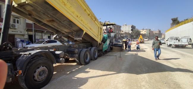 Büyükşehir üstyapı çalışmalarını sürdürüyor (Videolu Haber)