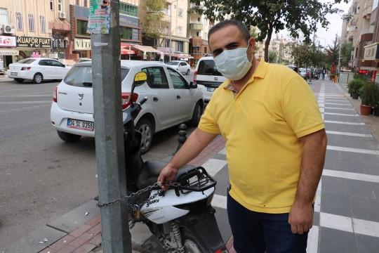 Çaldığı televizyonları çalıntı motosiklet ile götürdü (Videolu Haber)
