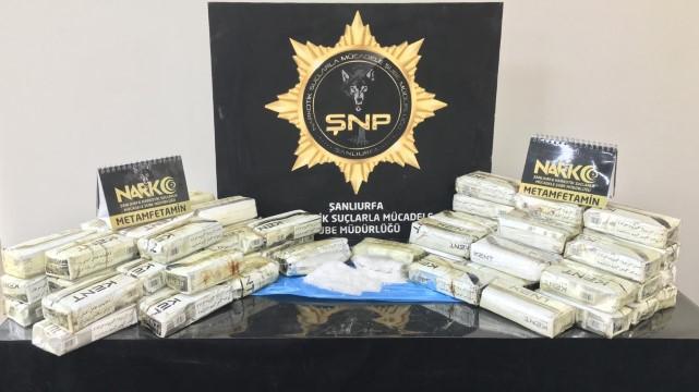 Şanlıurfa'da uyuşturucu operasyonu (Video)