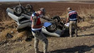 Siverek'te kazada aynı aileden 4 kişi yaralandı