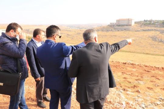 Albayrak'ın girişimiyle Halfeti'ye millet bahçesi yapılıyor
