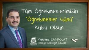 Canpolat'tan 24 Kasım Öğretmenler Günü mesajı (Videolu Haber)