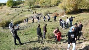 Fırat Nehri'nin eşsiz manzarasında doğa yürüyüşü (Videolu Haber)