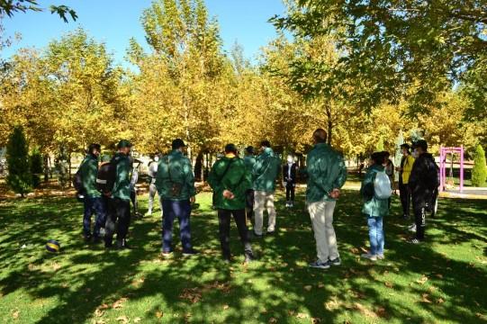 Yeşilay Şanlıurfa Şubesin'den doğa yürüyüşü