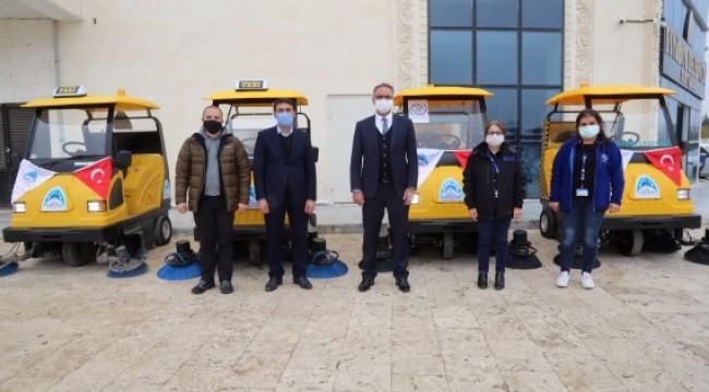 Eyyübiye Belediyesi, filoya 5 yeni araç daha kattı (Videolu Haber)