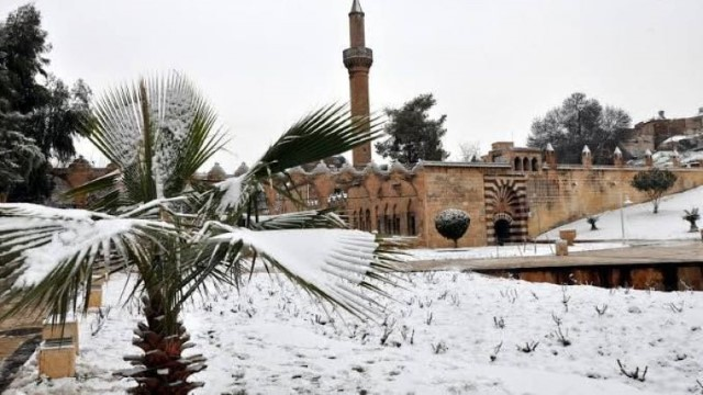 Şanlıurfa için yoğun kar uyarısı yapıldı