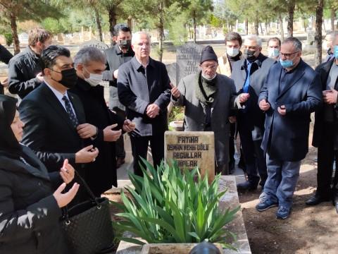 Abdullah Balak mezarı başında anıldı (Videolu Haber)