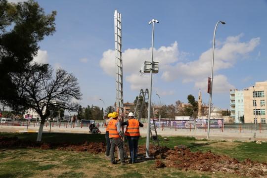 """Haliliye'de, 75 parkta """"güvenli parklar"""" projesi (Videolu Haber)"""